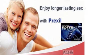 longer lasting sex with Prexil