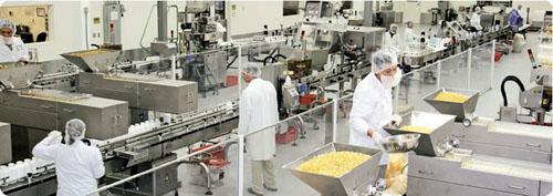 prexil production line
